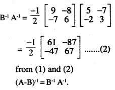 2nd PUC Maths Question Bank Chapter 4 Determinants Ex 4.5.16