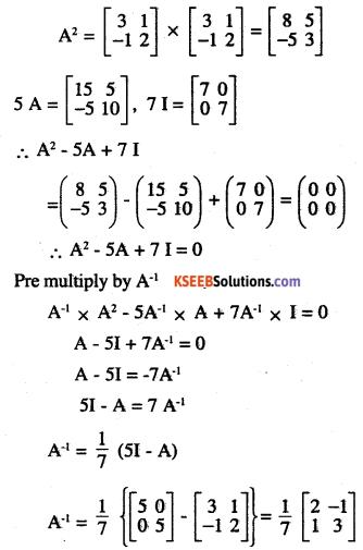 2nd PUC Maths Question Bank Chapter 4 Determinants Ex 4.5.17