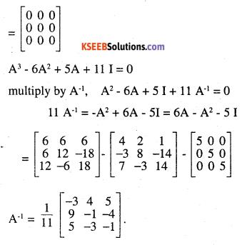2nd PUC Maths Question Bank Chapter 4 Determinants Ex 4.5.21