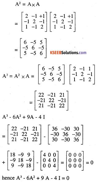 2nd PUC Maths Question Bank Chapter 4 Determinants Ex 4.5.22