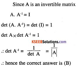 2nd PUC Maths Question Bank Chapter 4 Determinants Ex 4.5.24