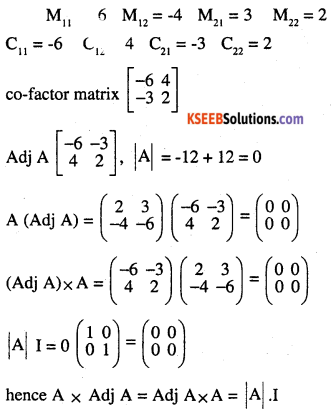 2nd PUC Maths Question Bank Chapter 4 Determinants Ex 4.5.3
