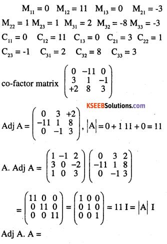 2nd PUC Maths Question Bank Chapter 4 Determinants Ex 4.5.4