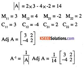 2nd PUC Maths Question Bank Chapter 4 Determinants Ex 4.5.6