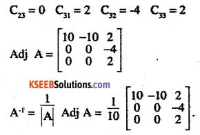 2nd PUC Maths Question Bank Chapter 4 Determinants Ex 4.5.9