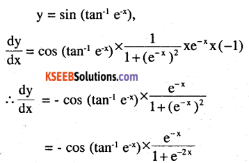 2nd PUC Maths Question Bank Chapter 5 Continuity and Differentiability Ex 5.4.5