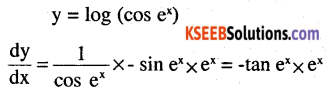2nd PUC Maths Question Bank Chapter 5 Continuity and Differentiability Ex 5.4.6