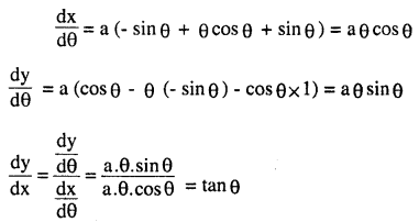2nd PUC Maths Question Bank Chapter 5 Continuity and Differentiability Ex 5.6.12