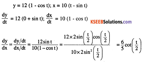 2nd PUC Maths Question Bank Chapter 5 Continuity and Differentiability Miscellaneous Exercise 15