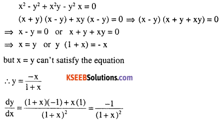 2nd PUC Maths Question Bank Chapter 5 Continuity and Differentiability Miscellaneous Exercise 18