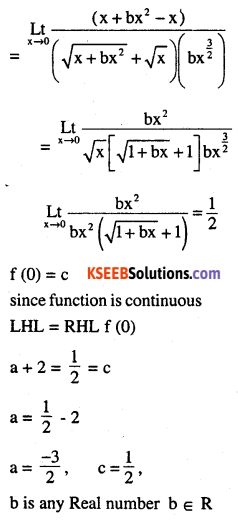 2nd PUC Maths Question Bank Chapter 5 Continuity and Differentiability Miscellaneous Exercise 32