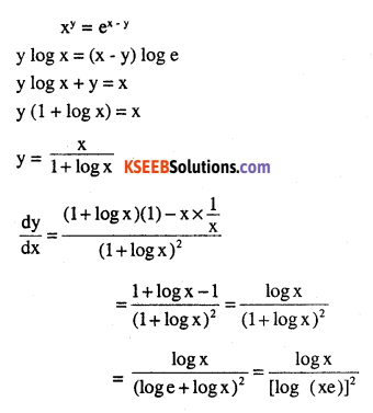 2nd PUC Maths Question Bank Chapter 5 Continuity and Differentiability Miscellaneous Exercise 34