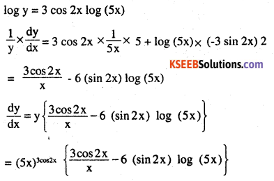 2nd PUC Maths Question Bank Chapter 5 Continuity and Differentiability Miscellaneous Exercise 4