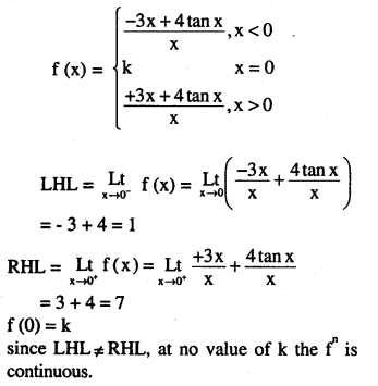 2nd PUC Maths Question Bank Chapter 5 Continuity and Differentiability Miscellaneous Exercise 40