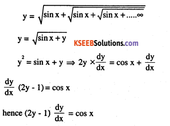 2nd PUC Maths Question Bank Chapter 5 Continuity and Differentiability Miscellaneous Exercise 41
