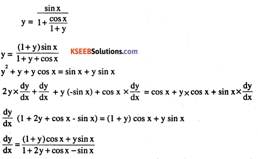 2nd PUC Maths Question Bank Chapter 5 Continuity and Differentiability Miscellaneous Exercise 43