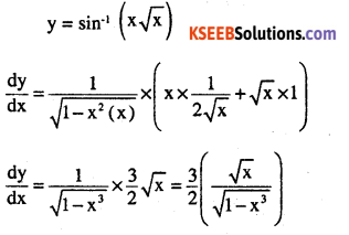 2nd PUC Maths Question Bank Chapter 5 Continuity and Differentiability Miscellaneous Exercise 5