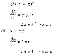 2nd PUC Maths Question Bank Chapter 6 Application of Derivatives Ex 6.1.1