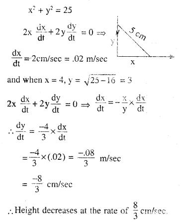 2nd PUC Maths Question Bank Chapter 6 Application of Derivatives Ex 6.1.10