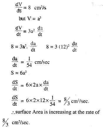 2nd PUC Maths Question Bank Chapter 6 Application of Derivatives Ex 6.1.2