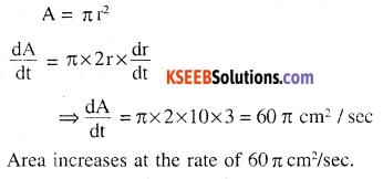 2nd PUC Maths Question Bank Chapter 6 Application of Derivatives Ex 6.1.3