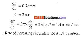 2nd PUC Maths Question Bank Chapter 6 Application of Derivatives Ex 6.1.6