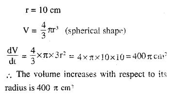 2nd PUC Maths Question Bank Chapter 6 Application of Derivatives Ex 6.1.9