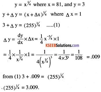 2nd PUC Maths Question Bank Chapter 6 Application of Derivatives Ex 6.4.10