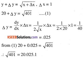 2nd PUC Maths Question Bank Chapter 6 Application of Derivatives Ex 6.4.12
