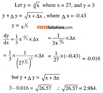 2nd PUC Maths Question Bank Chapter 6 Application of Derivatives Ex 6.4.14
