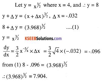 2nd PUC Maths Question Bank Chapter 6 Application of Derivatives Ex 6.4.17