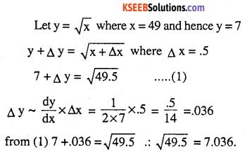2nd PUC Maths Question Bank Chapter 6 Application of Derivatives Ex 6.4.2