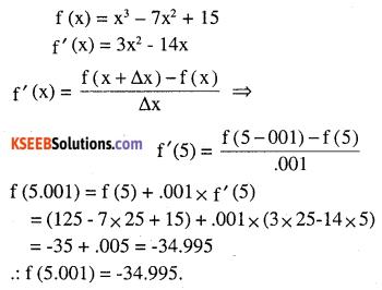 2nd PUC Maths Question Bank Chapter 6 Application of Derivatives Ex 6.4.20