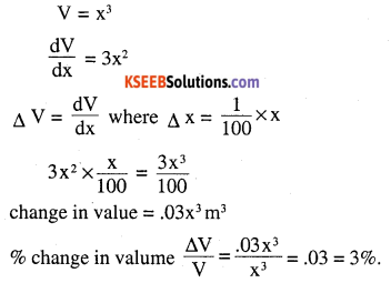 2nd PUC Maths Question Bank Chapter 6 Application of Derivatives Ex 6.4.21
