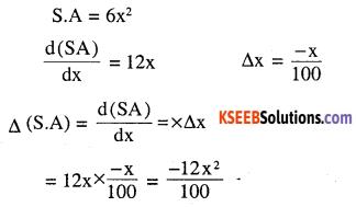 2nd PUC Maths Question Bank Chapter 6 Application of Derivatives Ex 6.4.22