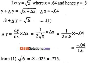2nd PUC Maths Question Bank Chapter 6 Application of Derivatives Ex 6.4.3
