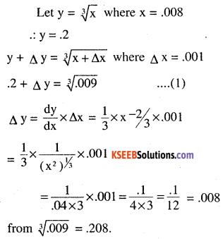 2nd PUC Maths Question Bank Chapter 6 Application of Derivatives Ex 6.4.4