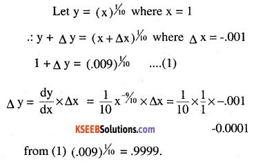 2nd PUC Maths Question Bank Chapter 6 Application of Derivatives Ex 6.4.5
