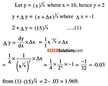 2nd PUC Maths Question Bank Chapter 6 Application of Derivatives Ex 6.4.6