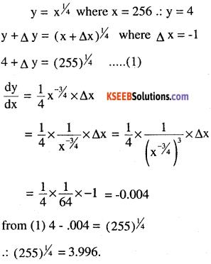 2nd PUC Maths Question Bank Chapter 6 Application of Derivatives Ex 6.4.9