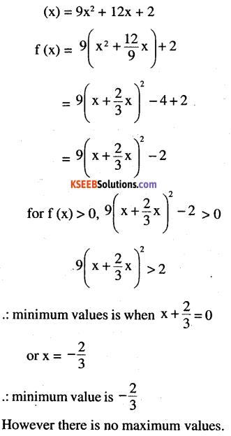 2nd PUC Maths Question Bank Chapter 6 Application of Derivatives Ex 6.5.1