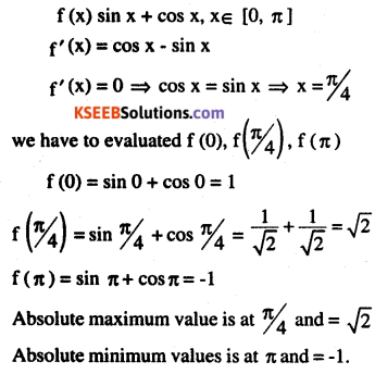 2nd PUC Maths Question Bank Chapter 6 Application of Derivatives Ex 6.5.12