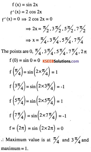 2nd PUC Maths Question Bank Chapter 6 Application of Derivatives Ex 6.5.15