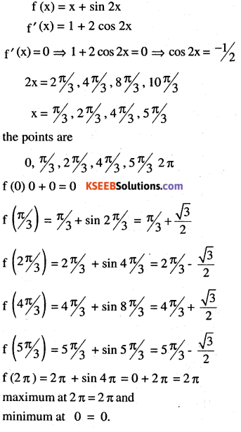 2nd PUC Maths Question Bank Chapter 6 Application of Derivatives Ex 6.5.18