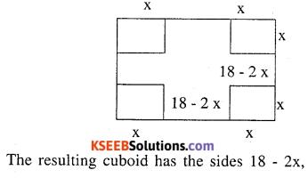 2nd PUC Maths Question Bank Chapter 6 Application of Derivatives Ex 6.5.25