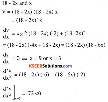2nd PUC Maths Question Bank Chapter 6 Application of Derivatives Ex 6.5.26