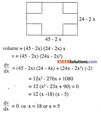 2nd PUC Maths Question Bank Chapter 6 Application of Derivatives Ex 6.5.27