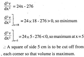 2nd PUC Maths Question Bank Chapter 6 Application of Derivatives Ex 6.5.28