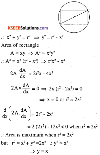 2nd PUC Maths Question Bank Chapter 6 Application of Derivatives Ex 6.5.29