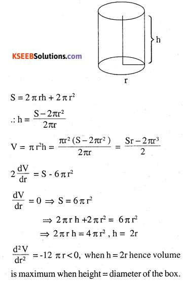 2nd PUC Maths Question Bank Chapter 6 Application of Derivatives Ex 6.5.30